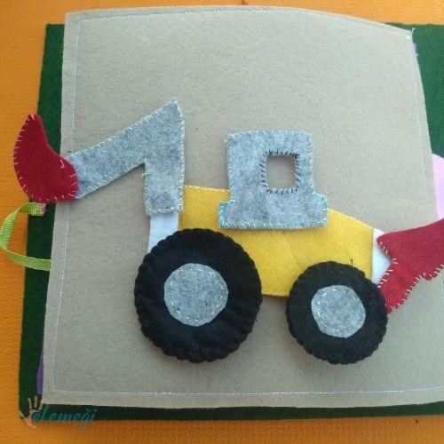 Kepçe Keçe Eğitici Kitap Sayfası Montessori Elemegicom