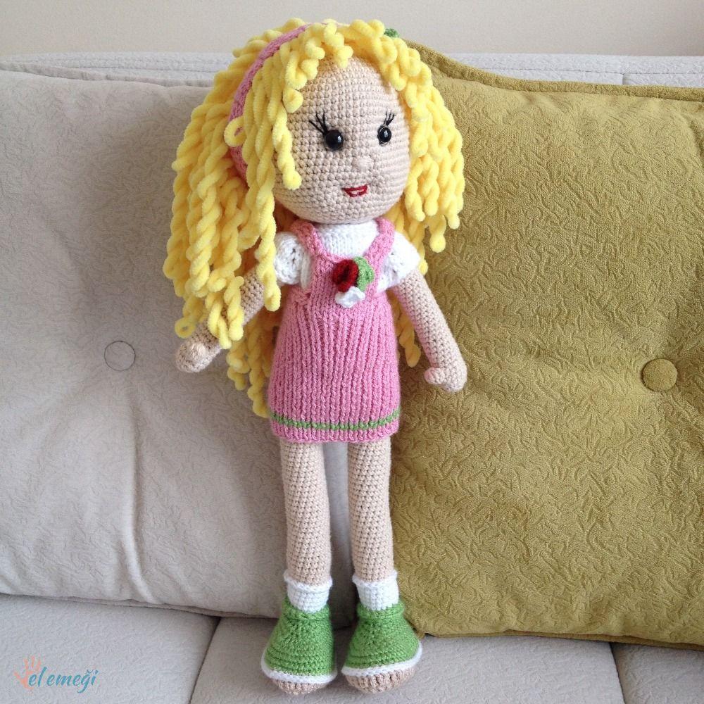 Leithygurumi: Narin Bebek - Türkçe - Ücretsiz - Amigurumi Doll ... | 1000x1000